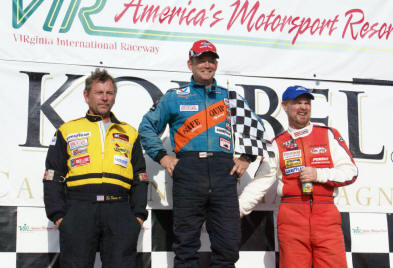 VIR Oak Tree National Sunday 2008 Podium